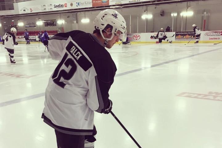 Zach Falck RINK Hockey Academy Alumni
